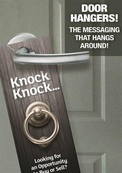 Door Hangers Marketing Advertising