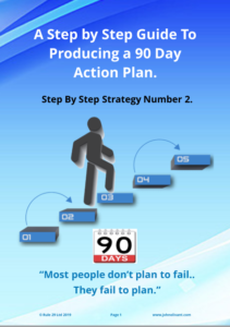 90 day flyer marketing action plan